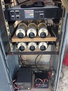 GB3DT installed in the tower 21m above ground level - 05 Apr 16